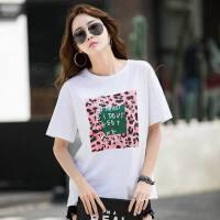 夏季韩板女装大码棉半袖内搭打底T恤短袖宽松慵懒风韩国潮