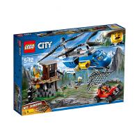 【当当自营】LEGO乐高积木城市组City系列60173 5-12岁山地特警空中追捕