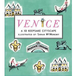 Venice: A 3D Keepsake Cityscape威尼斯(立体书)ISBN9780763671860
