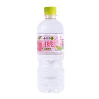 日本进口饮品 透明 cocacola可口可乐白桃/水蜜桃清爽清凉饮料555ml