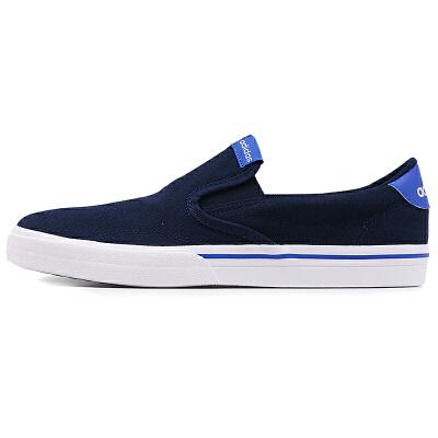 阿迪达斯Adidas AW3900网球鞋男鞋 懒人鞋一脚穿休闲鞋 透气 轻便