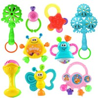 摇铃小男孩子5五6六7七8八9九十个月女婴儿玩具0-1岁女宝宝益智力 9件套 9件套