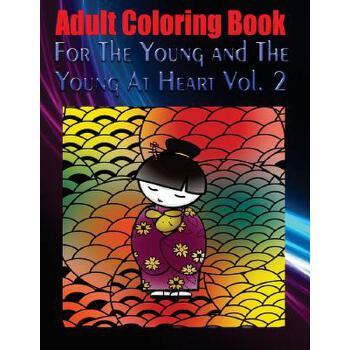 【预订】Adult Coloring Book for the Young and the Young at Heart Vol. 2: Mandala Coloring Book 预订商品,需要1-3个月发货,非质量问题不接受退换货。