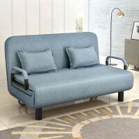 折叠床布艺沙发宜家家居拆洗小户型客厅沙发床旗舰官方店