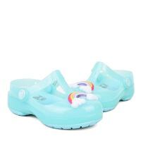 Crocs女童凉鞋 卡骆驰2021新款时尚伊莎贝拉包头凉鞋软底 205534 伊莎贝拉奇趣小克骆格