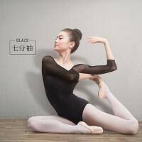 成人舞蹈服女基训芭蕾舞练功服学生艺考形体体操服空中瑜伽连体衣