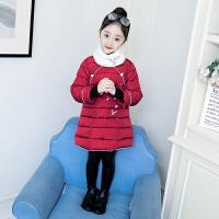儿童汉服7过新年衣服4岁礼服5红色童装冬装女童唐装中国风拜年服