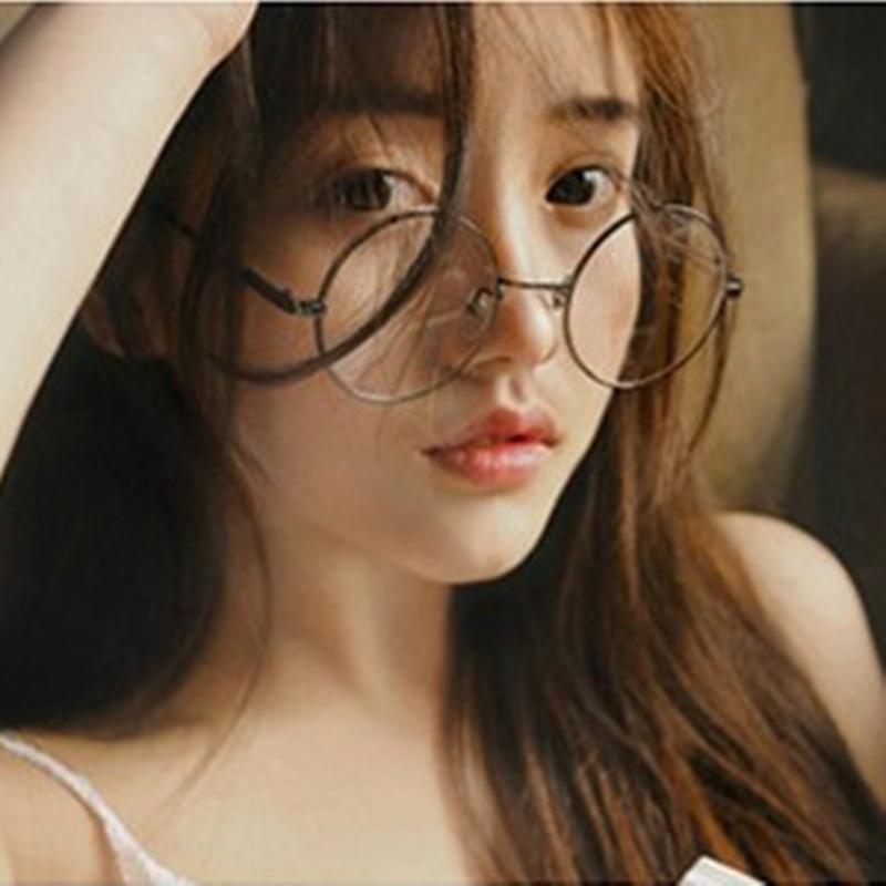 复古文艺圆形眼镜框架韩版潮男女平光镜圆框眼睛 发货周期:一般在付款后2-90天左右发货,具体发货时间请以与客服协商的时间为准