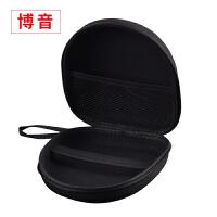 耳机收纳盒索尼MDR-XB650BT头戴式XB950BT B1 N1耳机包大JVC S 黑色【有防滑带】