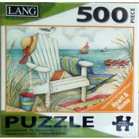 美国Lang进口成人益智拼图玩具5039154 沙滩椅500大片