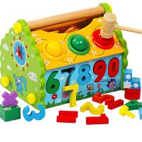 【支持�Y品卡】����早教玩具1-3三周�q2-4�_�l益智力�⒚赡泻⑴�幼�和�木制�|�e木 u2m