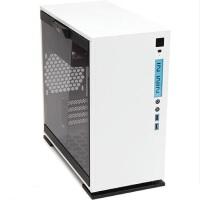 【当当正品店】迎广(IN WIN)301 白色 中塔机箱(支持MATX主板/支持水冷/钢化玻璃/侧透/USB3.0)