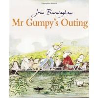 Mr. Gumpy's Outing (BB) 和甘伯伯去游河 1970年凯特・格里纳威奖(卡板书)ISBN 97808