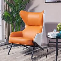北欧沙发椅单人高背轻奢质质休闲老虎椅设计师客厅书房现代懒人椅