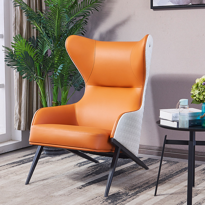 北欧沙发椅单人高背轻奢质质休闲老虎椅设计师客厅书房现代懒人椅 厂家直发,品质保证,售后无忧,欢迎自行选购。另注:部分商品需定制(定金),偏远地