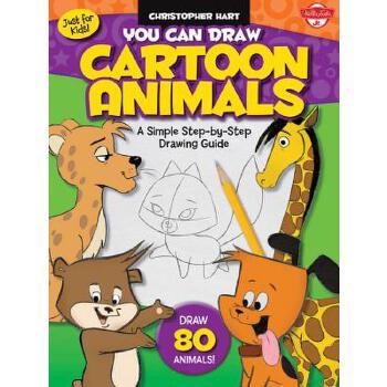 【预订】You Can Draw Cartoon Animals 预订商品,需要1-3个月发货,非质量问题不接受退换货。