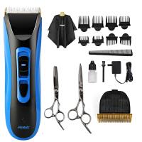 雷瓦(RIWA) RE-750A理发器 +原装刀头+不锈钢剪刀 全身水洗电动理发器 儿童/成人电推剪理发剪