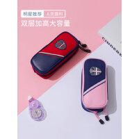 韩国FA儿童文具盒笔袋女小学生笔袋女款大容量分层简约笔袋铅笔盒