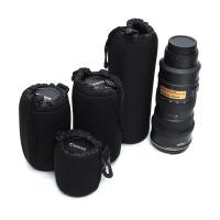 镜头筒适用于佳能单反相机镜头袋 加厚防撞保护镜头套 镜头包 小号(S) 长度不超过8cm