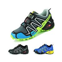 夏季登山鞋男士户外徒步女运动防滑透气轻便休闲爬山旅游鞋