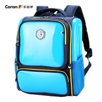 卡拉羊书包小学生男女2-6年级背包儿童减负护脊双肩包韩版CX2632