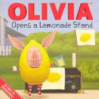 OLIVIA Opens a Lemonade Stand 奥莉薇开了个汽水摊儿9781416999324
