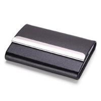 名片夹男式创意商务金属名片盒大容量女式男士时尚名片夹定制刻字