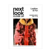 皮草皮衣时装杂志Next Look Close up-Leather&Fur时尚设计杂志订阅意大利语原版 年订2期
