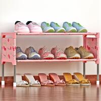 索尔诺简易多层鞋架 组装防尘鞋柜简约现代经济型铁艺收纳架K123