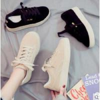 新款女帆布鞋学生韩版山本风老爹运动鞋百搭休闲港风板鞋