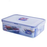 乐扣乐扣普通型保鲜盒HPL824C(1600ml/长方间隔/4格型)