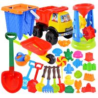 儿童沙滩玩具大号沙漏铲子车戏水挖沙子宝宝下雪玩沙工具洗澡水枪