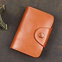 多卡位男皮大容量女迷你装卡包小款驾驶证卡包零钱包一体放卡的