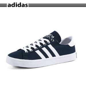 Adidas/阿迪达斯NEO学院风休闲运动板鞋帆布鞋S78764