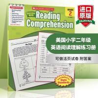 美国小学二年级英语阅读理解练习册 英文版scholastic Success with Reading compreh