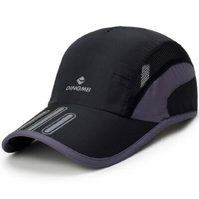 男士网帽棒球帽防晒女士遮阳太阳帽户外透气鸭舌帽