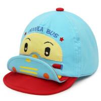 宝宝鸭舌帽子 儿童可爱棒球帽男女婴儿帽子卡通翘舌帽