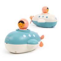 儿童游泳发条喷水男女孩宝宝洗澡玩具 婴儿浴室戏水套装