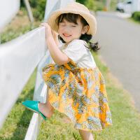 儿童超洋气连衣裙装女宝宝公主裙子女童夏装小女孩衣服4小童3-5岁