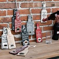 美复古啤酒开瓶器个性酒吧餐厅咖啡馆创意家居墙面壁饰装饰挂件