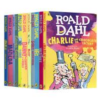 罗尔德达尔童书10本套装 Roald Dahl 英文原版儿童章节桥梁书 查理与巧克力工厂 好心眼圆梦巨人 英文版中小学