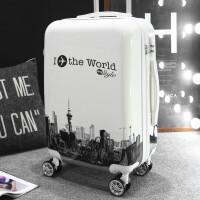行李箱男拉杆箱包女士可爱韩版密码箱小清新个性旅行箱大学生28寸
