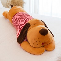 趴趴毛绒玩具狗狗可爱公仔睡觉抱枕女孩娃娃萌玩偶送女友懒人床上