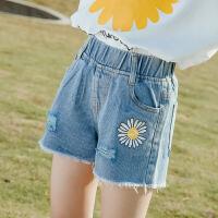 童装女童牛仔短裤夏装中大童儿童夏季薄款裤子