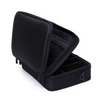 化妆包大容量双层便携跟妆包手提化妆箱简约大号化妆品收纳包