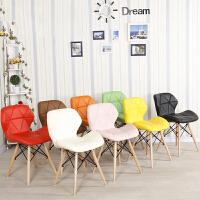 御目 餐椅 伊姆斯椅接待洽谈创意椅现代家用实木休闲椅时尚办公咖啡椅