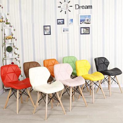 御目 餐椅 伊姆斯椅接待洽谈创意椅现代家用实木休闲椅时尚办公咖啡椅支持礼品卡支付