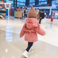 ��阂路�冬季1�q3��月����加厚保暖上衣新生�和�外套冬�b