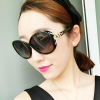 偏光太阳镜女潮2019新款女士防紫外线太阳镜圆脸眼镜遮阳镜驾驶镜