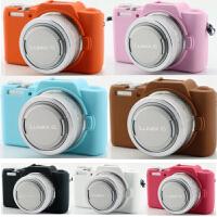 松下dmc-gf8 gk相机包硅胶套 gf7 DMC-gf9 相机套 保护套 内胆包 GF8/GF7 黑色